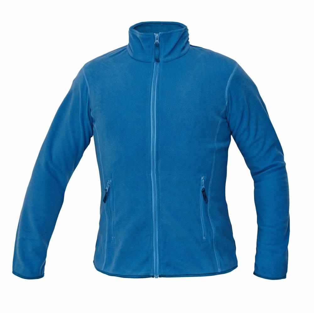 Červa GOMTI bunda fleece dámská bílá L
