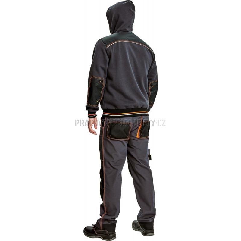 Mikina s kapucí KNOXFIELD antracit    Pracovní obuv   oděvy cbd970d479