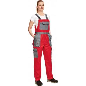 MAX EVO dámské Kalhoty s laclem + bunda červen šedá ... 5241ca3dd5